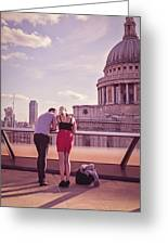 London Love, Love London Greeting Card