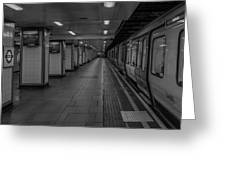 London Mile End Station Greeting Card