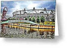 London Olympic Greeting Card