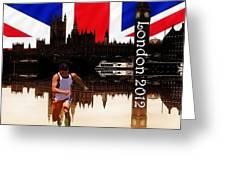 London Olympics 2012 Greeting Card