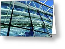 London Sky Garden Architecture 1 Greeting Card