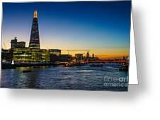 London South Bank 3 Greeting Card