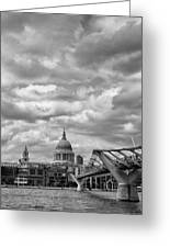 London - St. Pauls Cathedrale Greeting Card