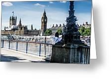 London Stranger Greeting Card