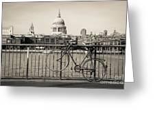 London Thames 1 Greeting Card