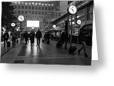 London Time Greeting Card