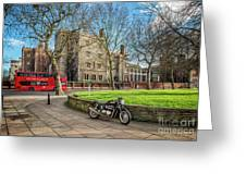 London Transport Greeting Card