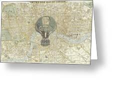 London Travels Greeting Card