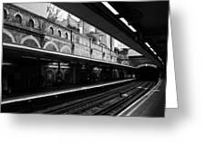 London Underground Station Greeting Card