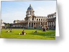 London University Greenwich Greeting Card