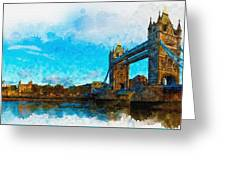 London Unveiled Greeting Card