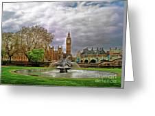 London's Big Ben  Greeting Card