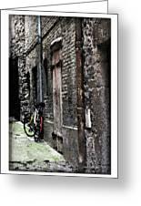 Lone Bike In France Greeting Card
