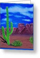Lone Cactus Greeting Card