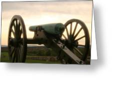 Lone Cannon Greeting Card