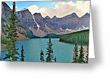Lone Canoe Greeting Card