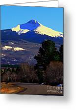 Lone Cone March 16 2018 Greeting Card