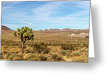 Lone Joshua Tree - Pleasant Valley Greeting Card