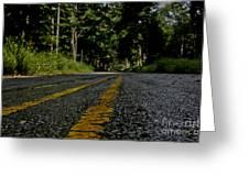 Lone Road Greeting Card