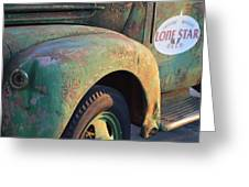 Lone Star Memories  Greeting Card