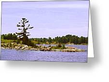 Lone Tree 3 Db  Greeting Card