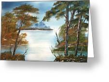 Lonely Bay Greeting Card