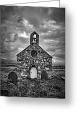 Lonely Chapel Greeting Card