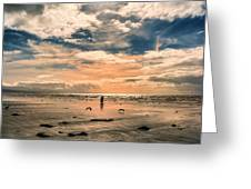 Lonely Couple  Greeting Card