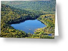Lonesome Lake - White Mountains New Hampshire Usa Greeting Card by Erin Paul Donovan