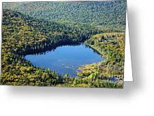 Lonesome Lake - White Mountains New Hampshire Usa Greeting Card