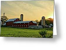 Long Barn Greeting Card