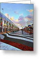 Long Beach Convention Center Greeting Card