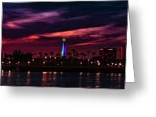 Long Beach Lighthouse II Greeting Card