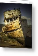 Long Forgotten Boat Greeting Card