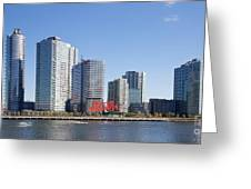 Long Island City Towers Greeting Card