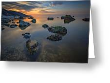 Long Island Sound Tranquility Greeting Card
