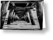 Long Jetty Greeting Card