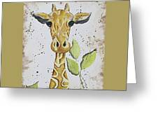 Long Neck Greeting Card
