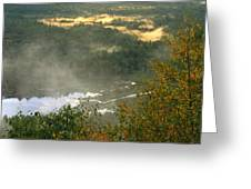 Long Pond Tully River Fog Greeting Card