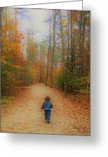 Heading For Heaven Greeting Card