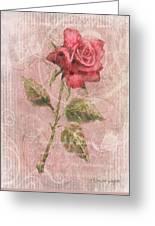 Long Stemmed Rose Greeting Card