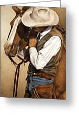 Long Time Partners Greeting Card by Pat Erickson
