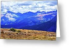 Longs Peak Rocky Mountain National Park Greeting Card