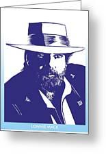 Lonnie Mack Greeting Card
