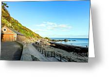Looe Boathouse Greeting Card