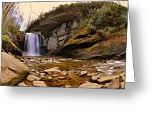 Looking Glass Falls Pisgah National Forest 2 Greeting Card