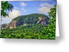 Looking Glass Rock Close Up Greeting Card