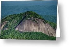 Looking Glass Rock Mountain In North Carolina Greeting Card