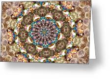 Looking Through The Kaleidoscope Greeting Card