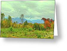 Looking To The Mountains Greeting Card